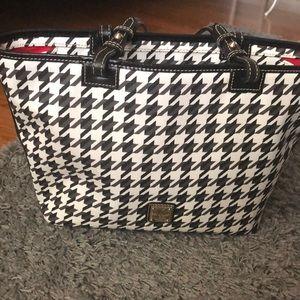 Houndstooth Dooney & Bourke satchel
